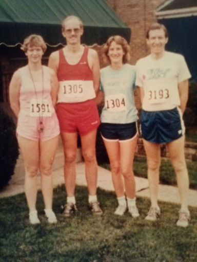 My mom (left) with some of my aunts and uncles in Pittsburgh's Great Race, early 80's.